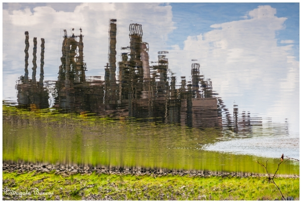factory steelplant Bethlehem Steel reflection PA