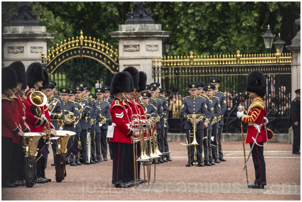 Queensguard London british Buckingham palace UK