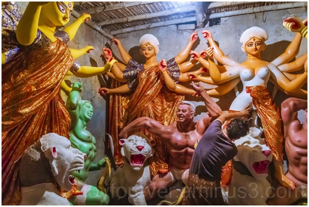 Kumartuli Kolkata Bengal clay idol DurgaPuja art