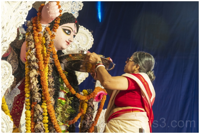 Bengal idol DurgaPuja festival India Hindu goddess