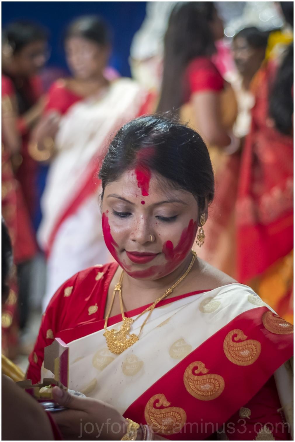 Sindurkhela vermillion durgapuja hindu festival