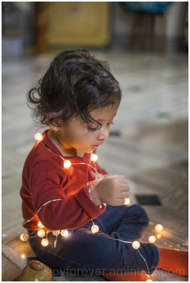 toddler girl festival Diwali indian lights child