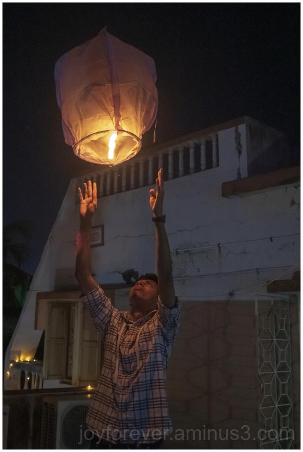 skylantern fire Diwali hotairballoon fire festival