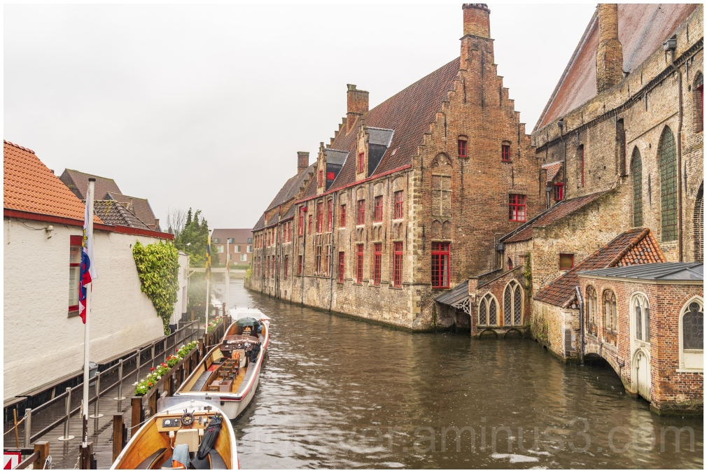 Brugge Bruges canal Belgium Europe water boats
