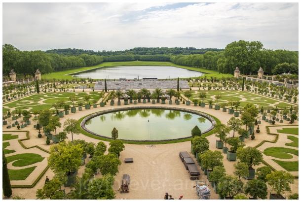 garden trees plants Versailles palace France Paris