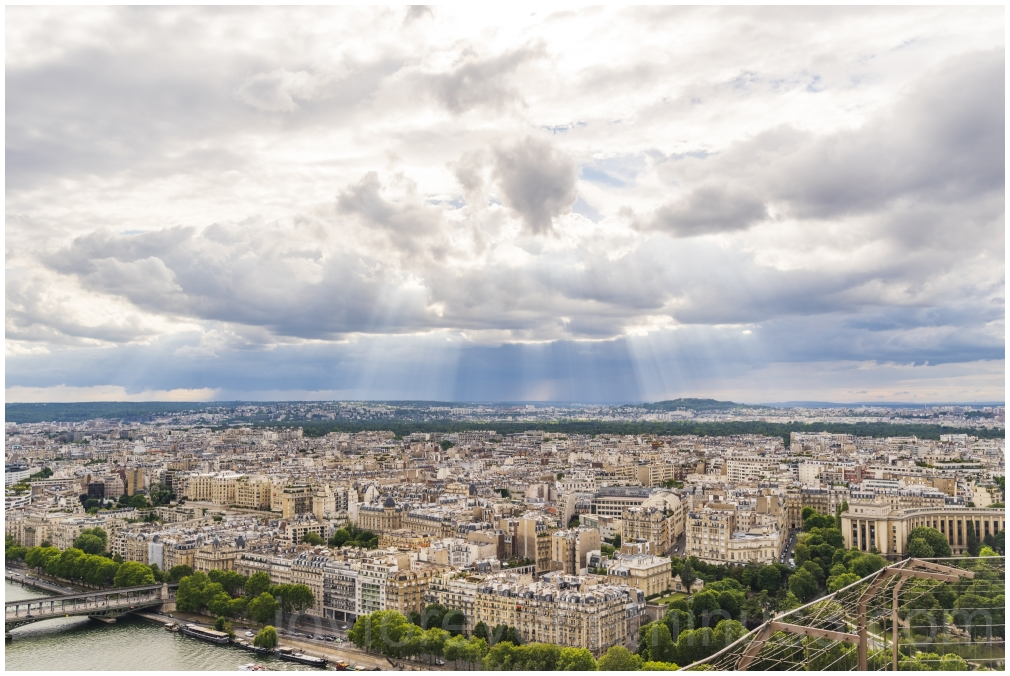 Paris France Eiffel Eiffeltower clouds sun city