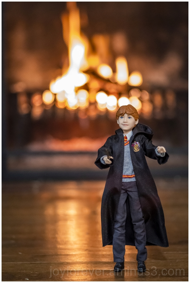 doll RonWeasley Ron RupertGrint HarryPotter fire