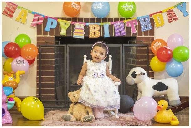 daughter girl toddler baby birthday two balloon