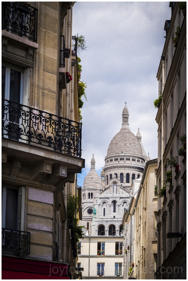 montmartre paris basilica church Sacrecoer France