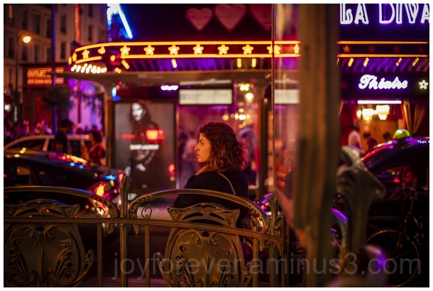 LaDiva Paris France Street woman evening