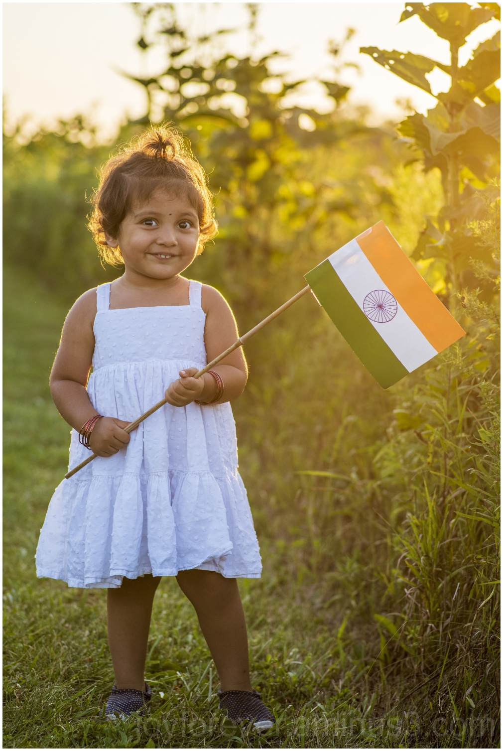 India Indian flag Independence Toddler savannah