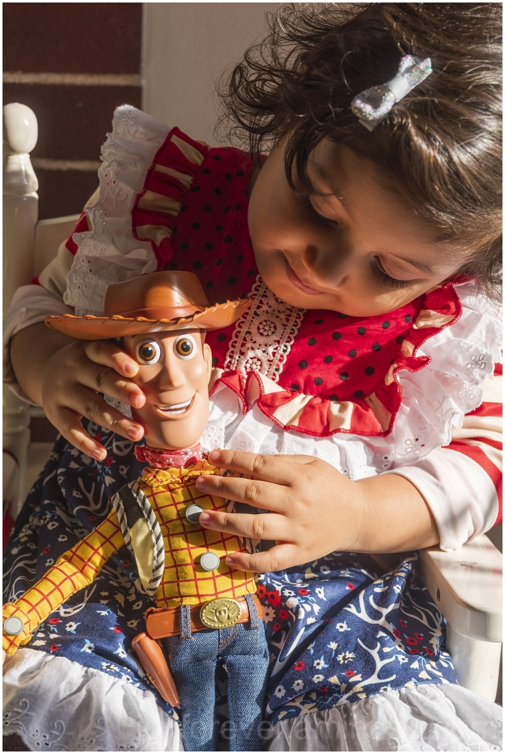 toddler child girl doll ragdoll Woody ToyStory toy