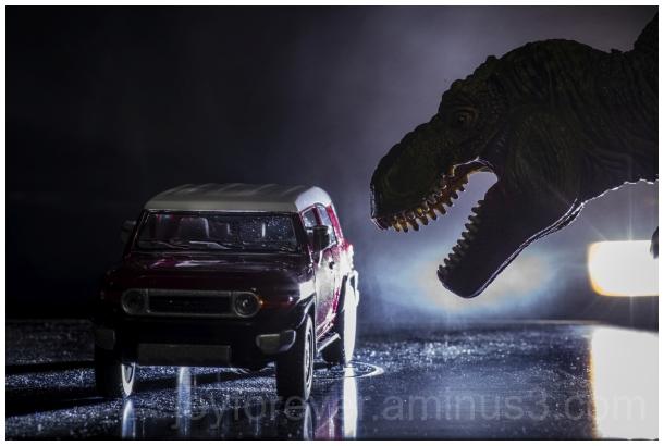 T-Rex Tyrannosaurus JurassicPark Dinosaur car toys