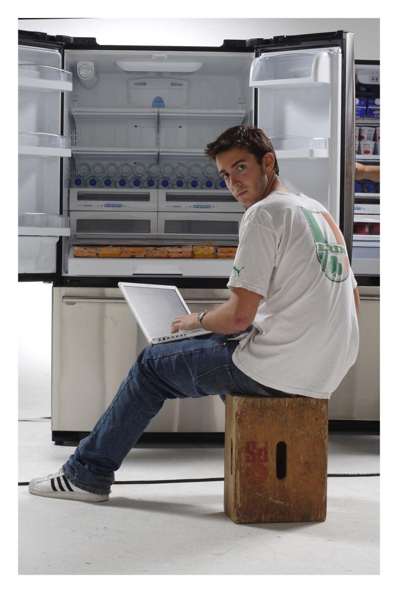 prepping a fridge