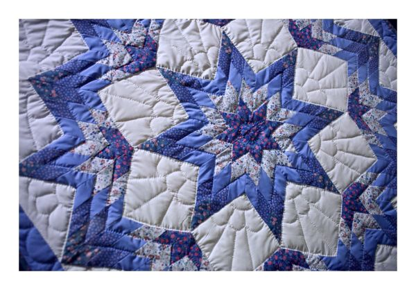 .. the snowflake quilt ..