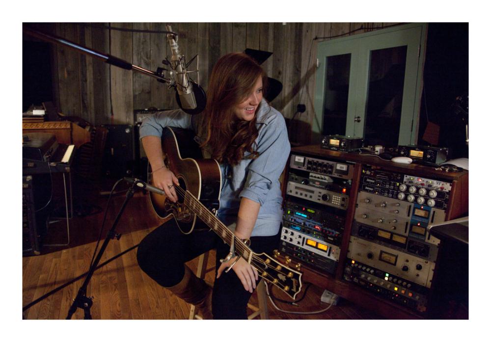 Molly Brown .. sound studio playback ..
