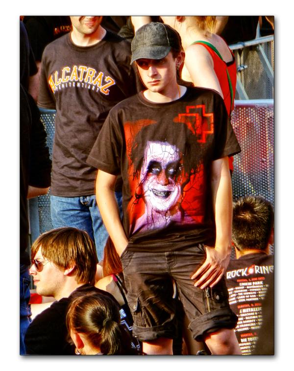 """Rammstein   """"face ou dos à la scène""""  ( 4 )"""