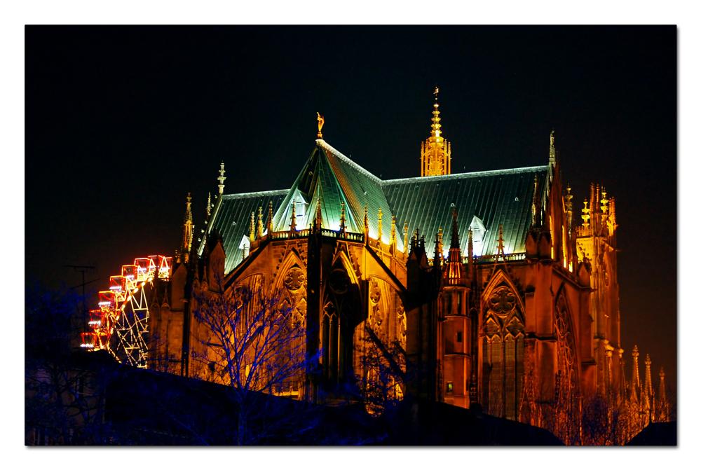 Cathédrale  de Metz ...