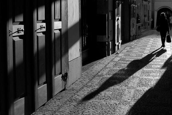 Praha - Black and white