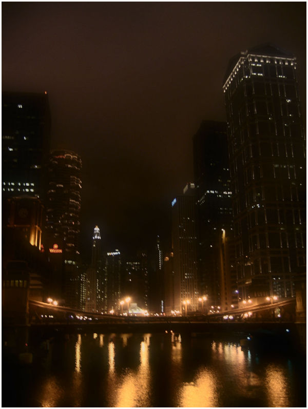 LaSalle Street Bridge in Chicago