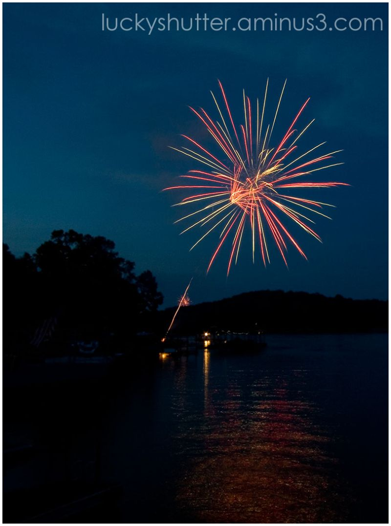 Fireworks on the Fourth I