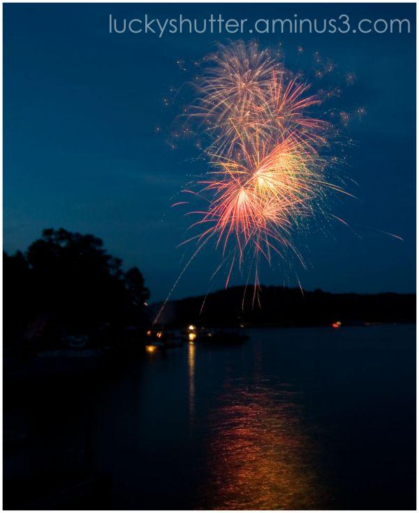 Fireworks on the Fourth II