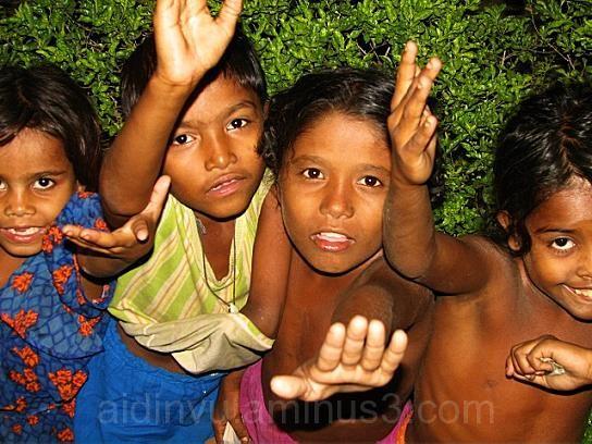 poor child make us rich..