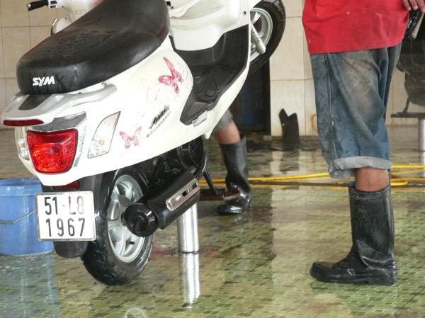 Motorbike valet service