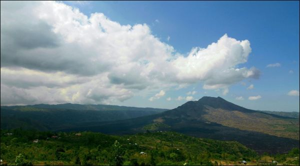 the dormant volcano