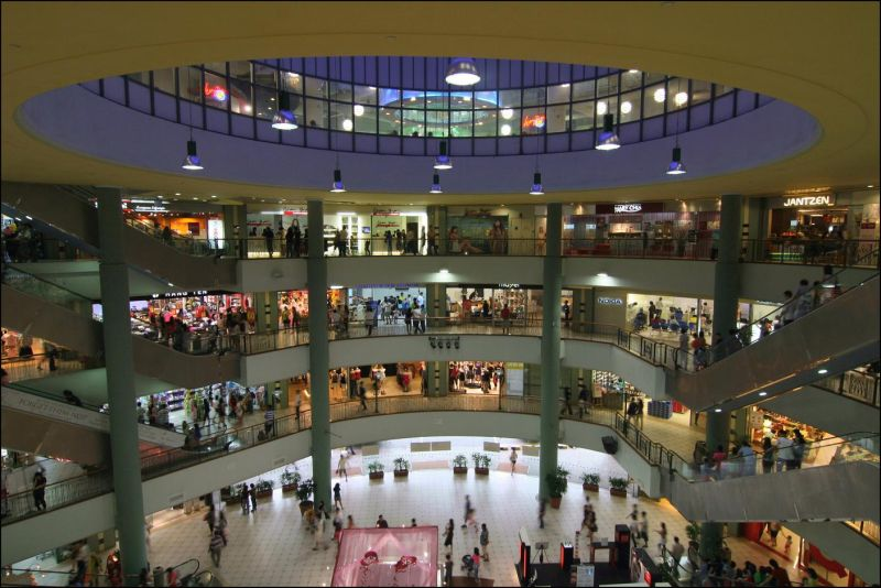 causeway point shopping mall at Saturday