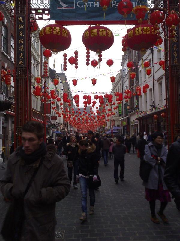 lanterns chinatown london