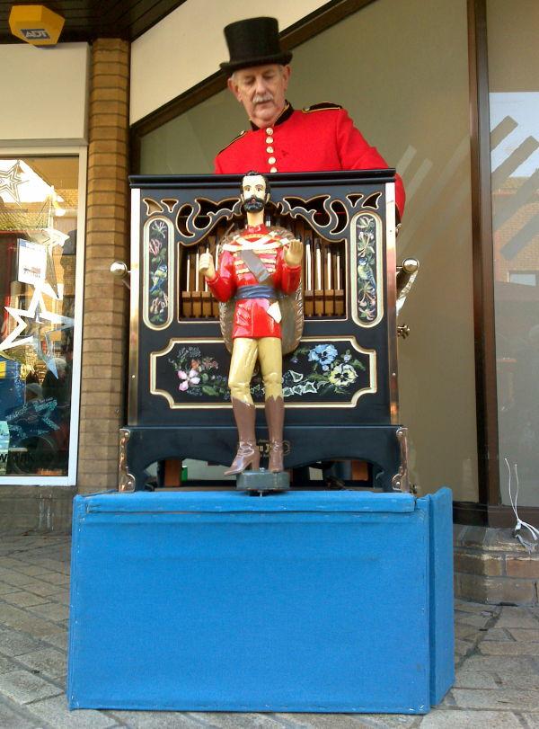 organ grinder's swing
