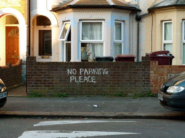 parking offence derek clive dark dude