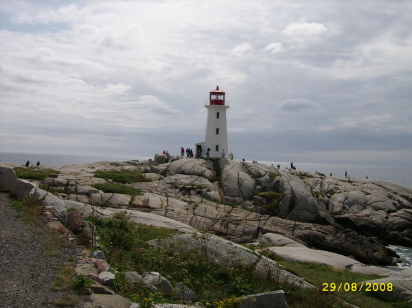 THe most photographed lighthouse in Canada