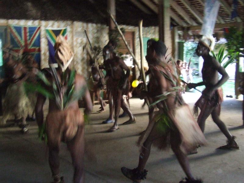 Vanuatu custom dance