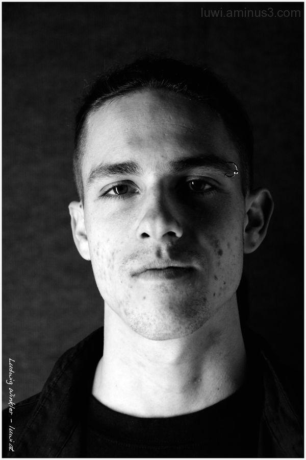 Portrait, Man,