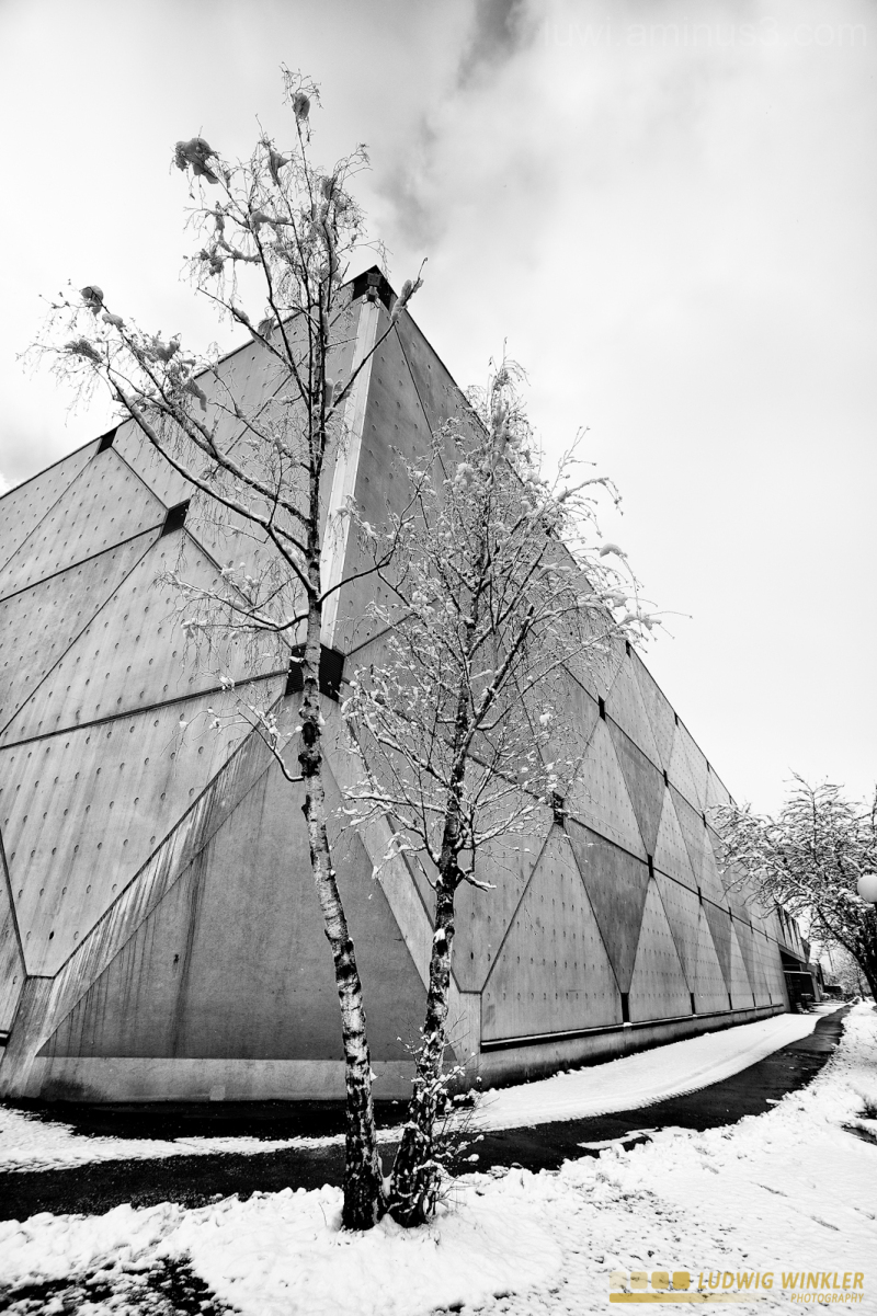 architecture and snow