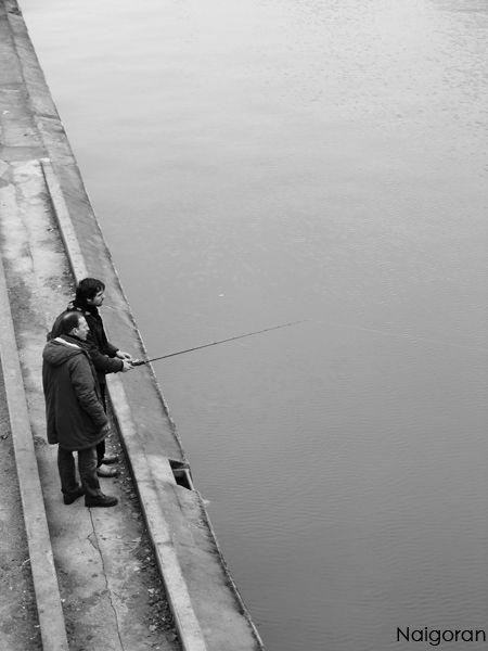 Les pêcheurs du canal St Martin