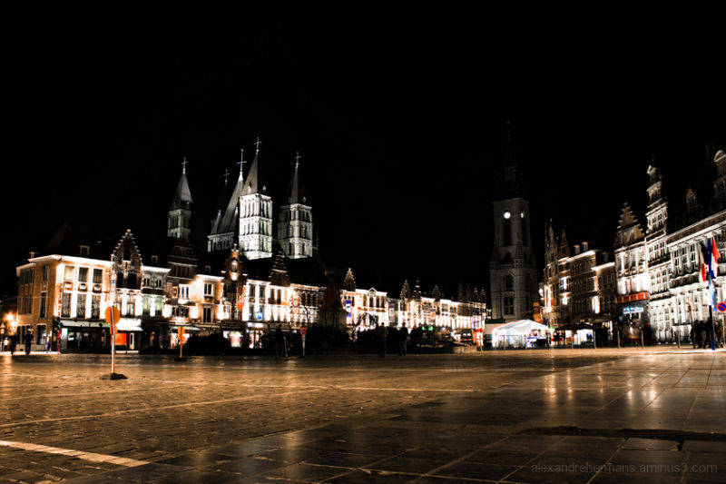 Tournai by Night (c) Alexandre Hermans 2009