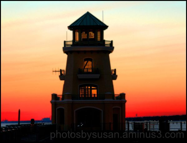 Lighthouse behind Beau Rivage, Biloxi, MS