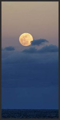 full moon at it's perigee