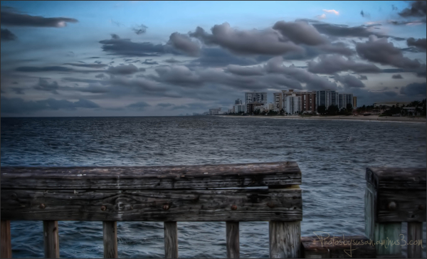 From the pier......