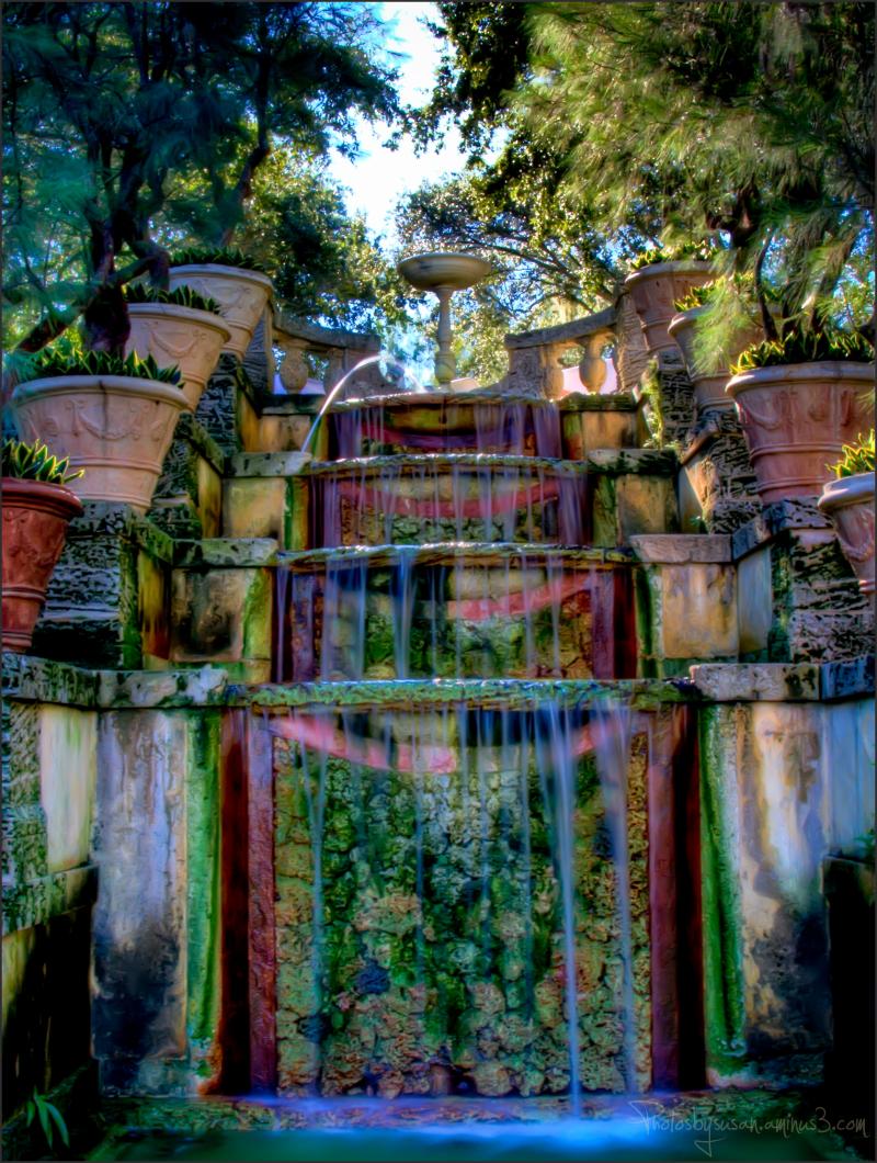 Fountain at Vizcaya