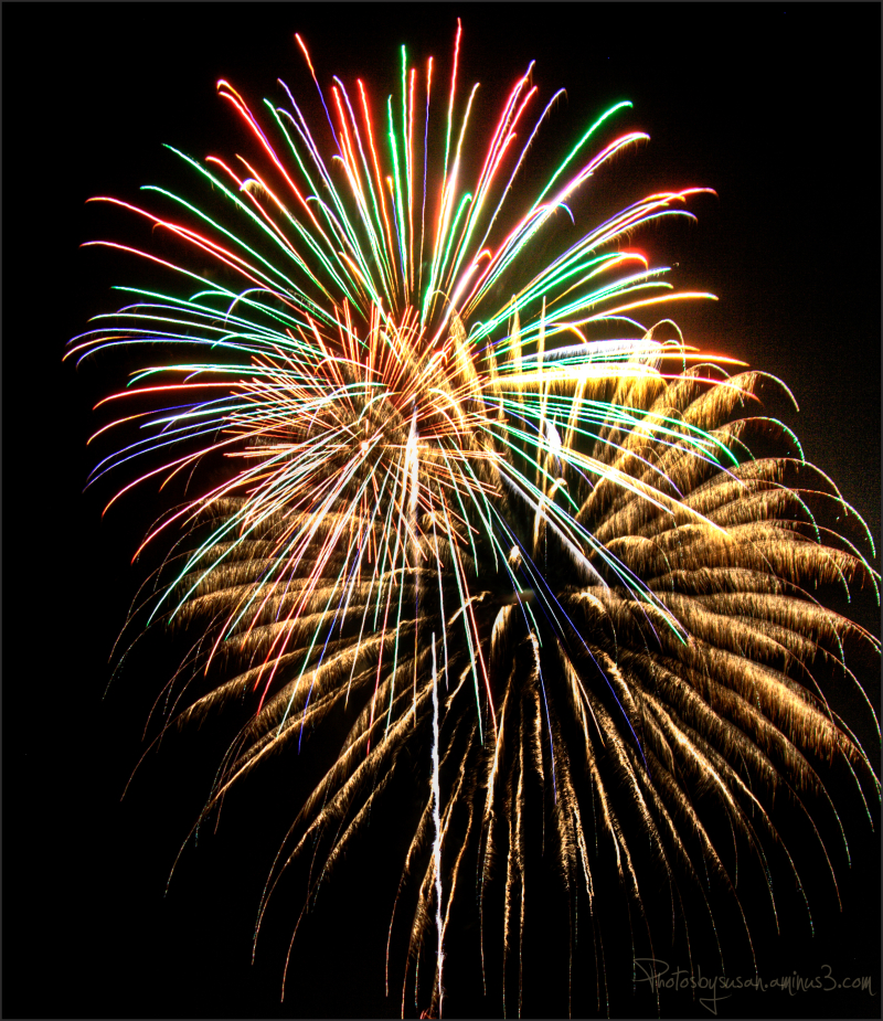 Fireworks for New Orleans
