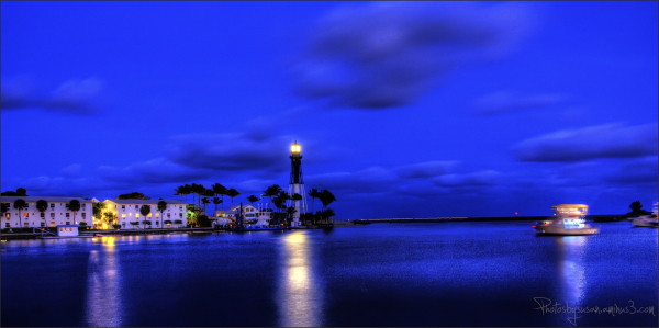 Nighttime in the Inlet