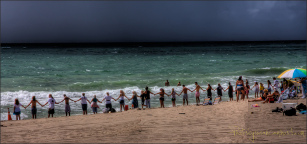 Hands Across the Sand - Pompano Beach, FL