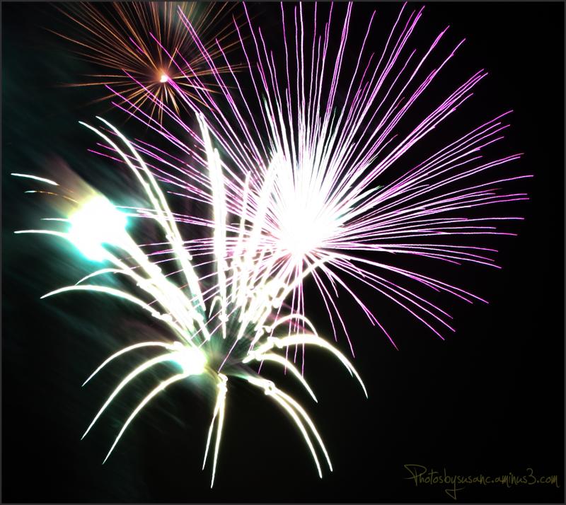 Fireworks, a week late