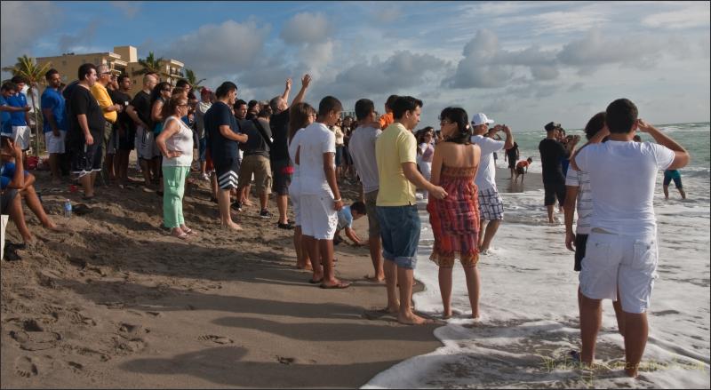 WWJD on the beach
