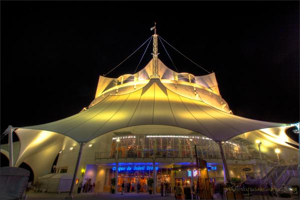 The Cirque du Soleil Building