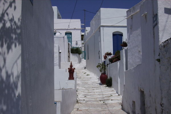 Small village in Sifnos